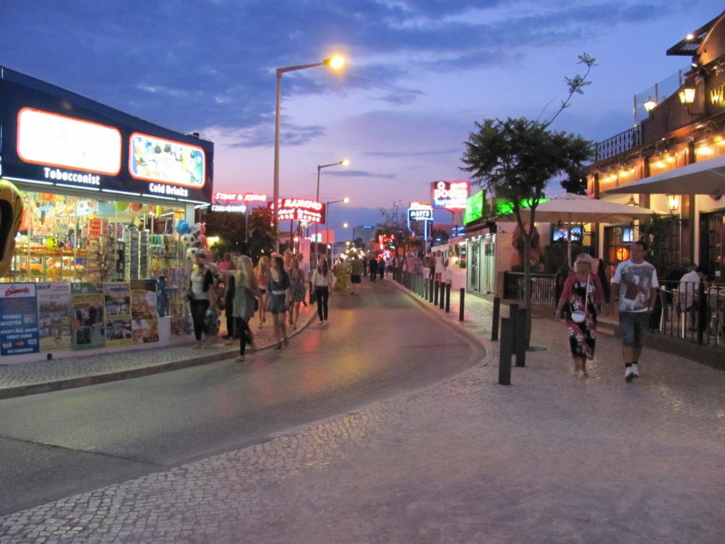 Oura strip near Grand Muthu Oura View Beach Club