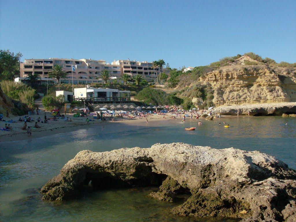 Auramar Beach resort view from Aveiro's beach