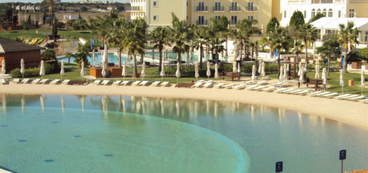 The Lake Resort Vilamoura Pool with sand