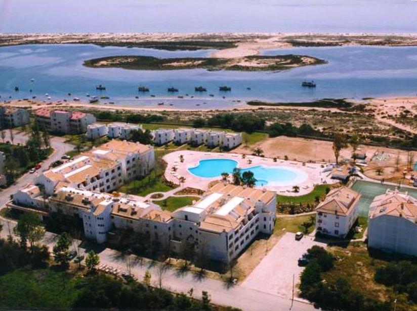 Air view of Golden Club Tavira