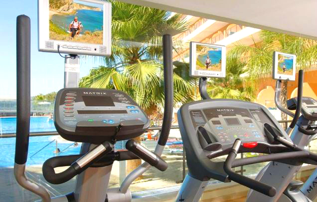 Fitness center of the complex