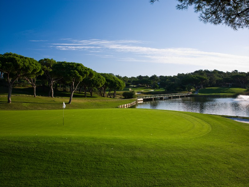 Golf course of Quinta do Lago