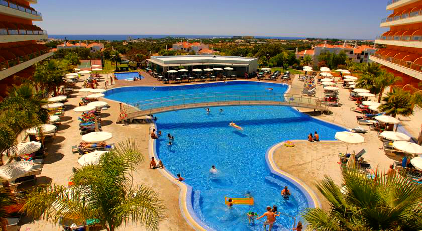 Outdoor pool of the complex