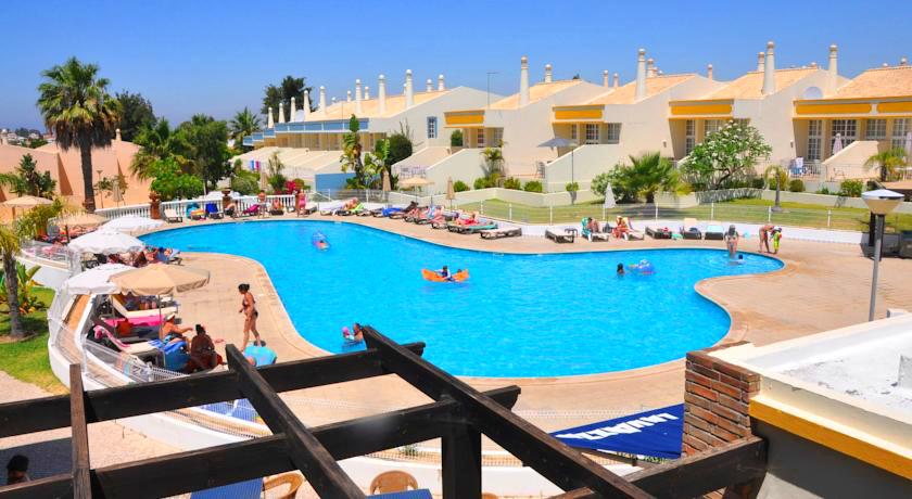 Outdoor pool of the Resort
