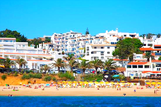 Soldoiro view from the beach