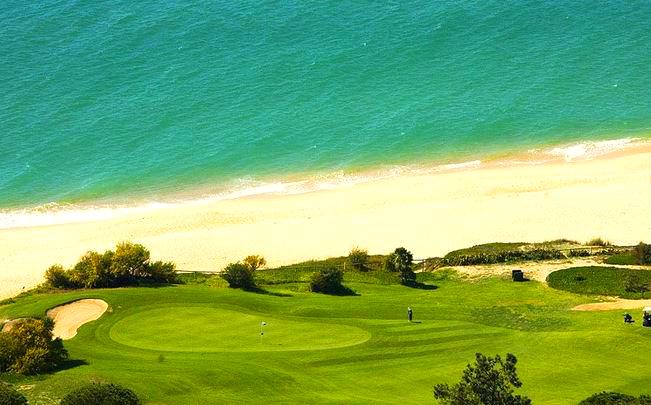 Golf course near the Resort