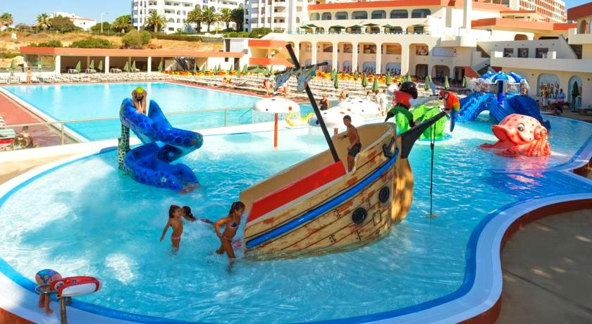 Children's outdoor pool