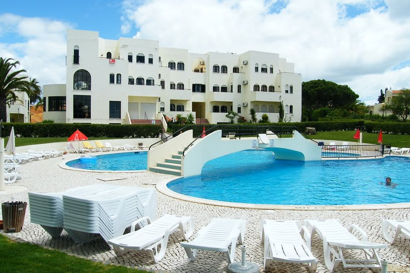 Outdoor pool of the club