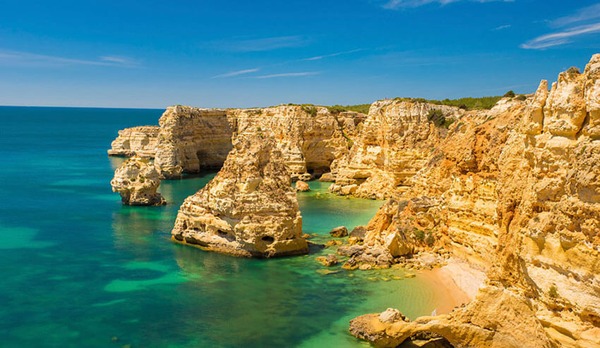 Top 10 Beaches in Algarve - Places to Visit in the Algarve