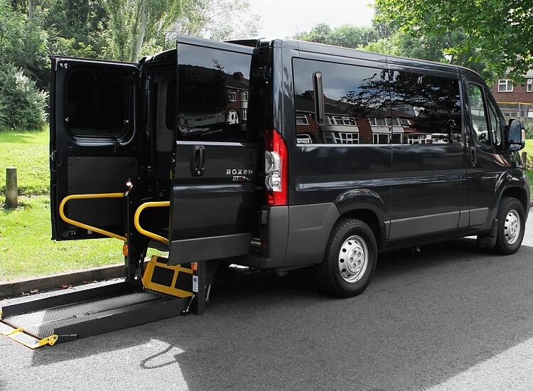 Faro Airport Wheelchair Access Vehicle