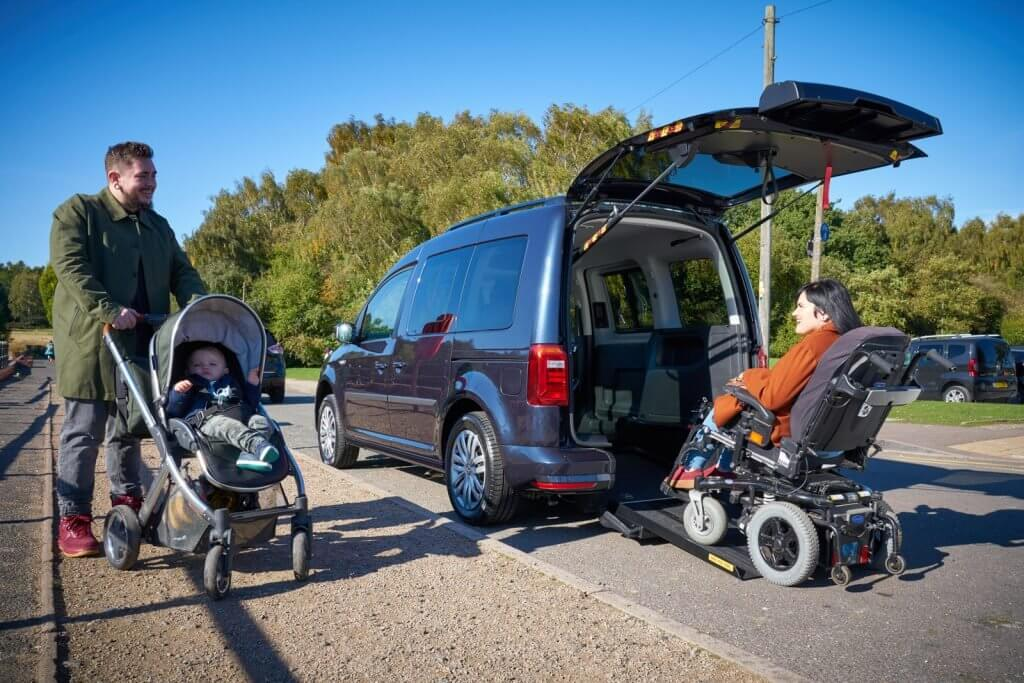 Adapted VW Caddy