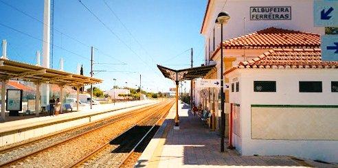 Albufeira Train Station