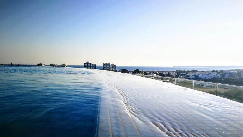 Inifinity Pool at  Longevity Health & Wellness